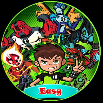 how to draw easy ben 10 poster