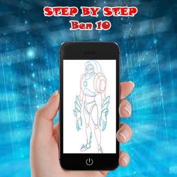 how to draw easy ben 10 screenshot 5
