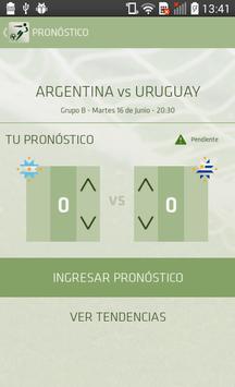 Pronostica Chile 2015 apk screenshot