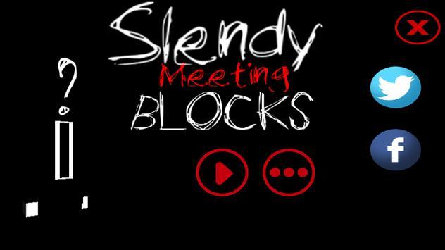 Slender Avengers Blocks poster