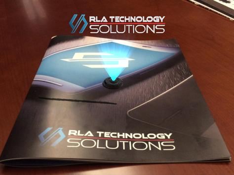 RLA Technology Solutions AR poster