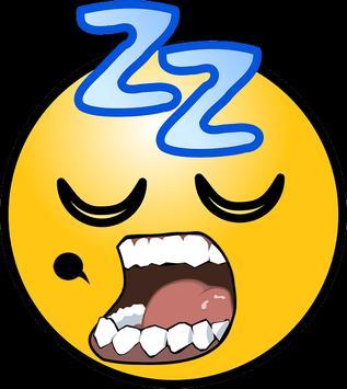 snoring poster