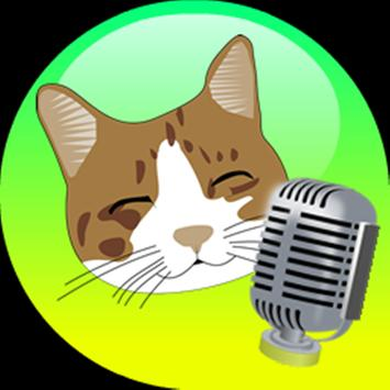 translator talking cat poster