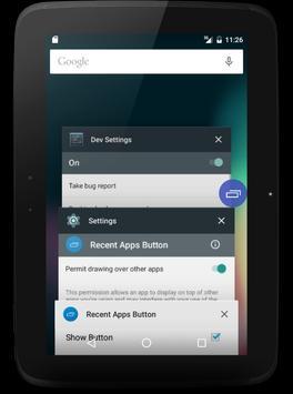 Recent Apps Button screenshot 4