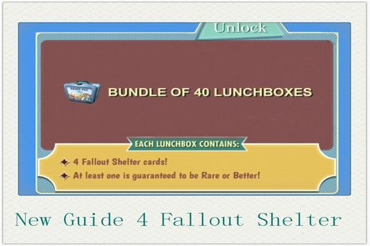 RP Guide for Fallout Shelter apk screenshot