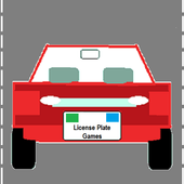 License Plate Games icon