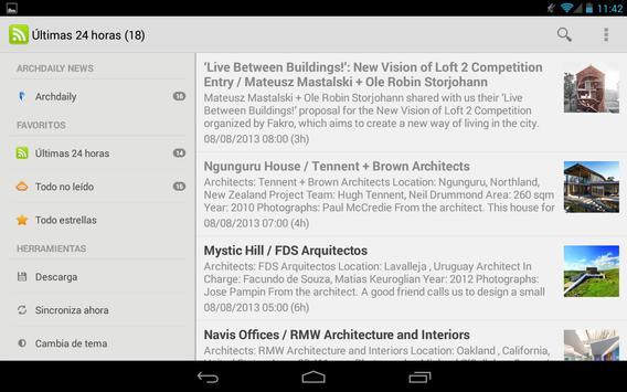 Plataforma Arquitectura Reader captura de pantalla 4