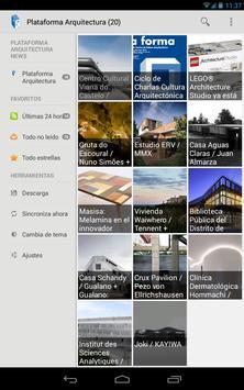 Plataforma Arquitectura Reader captura de pantalla 5