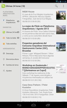 Plataforma Arquitectura Reader captura de pantalla 8