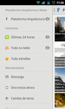 Plataforma Arquitectura Reader captura de pantalla 2