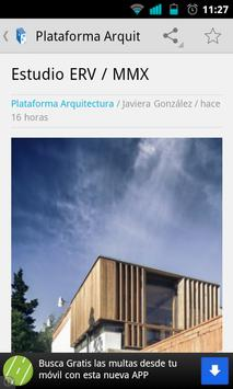 Plataforma Arquitectura Reader captura de pantalla 3