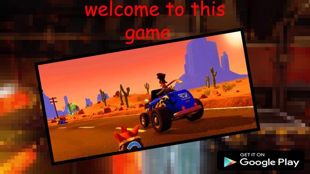 Crash RUN Bandicot  3D screenshot 1