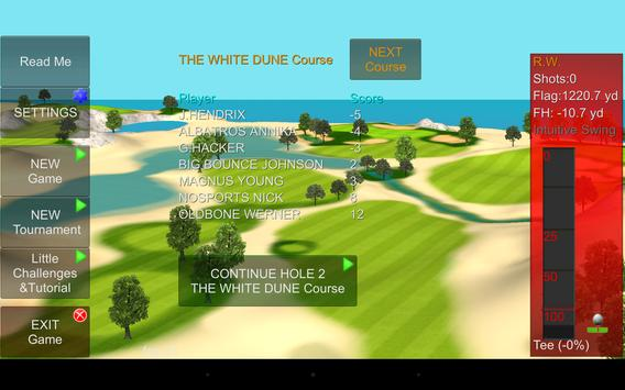 IRON 7 THREE Golf Game Lite apk screenshot