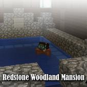Map Redstone Woodland Mansion Minecraft icon