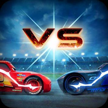 Lightning McQueen Vs Jackson Storm apk screenshot