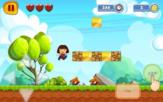 Super dorA World Explorer Sandy Game apk screenshot