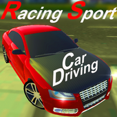 Racing Sport Car Driving icon