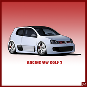 Racing VW Golf 7 icon