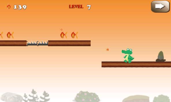 Jumping Croc screenshot 1