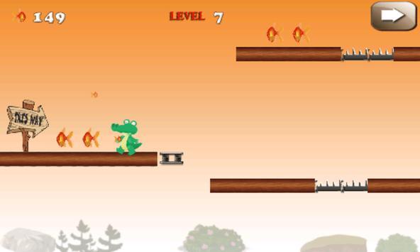 Jumping Croc screenshot 2