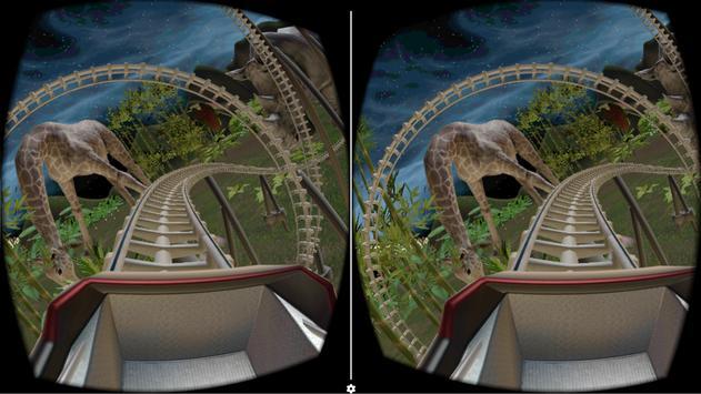 VR Roller Coaster (Jungle) apk screenshot