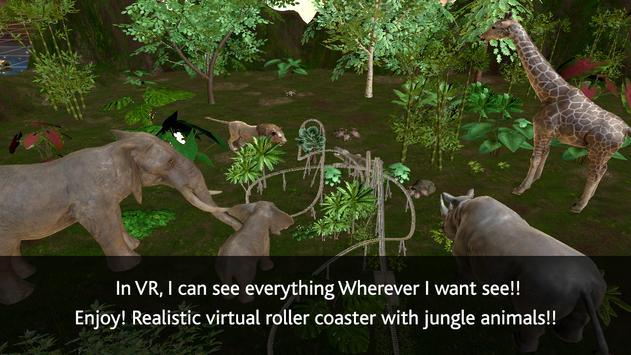 VR Roller Coaster (Jungle) poster