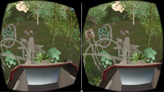 VR Roller Coaster (Jungle) screenshot 1