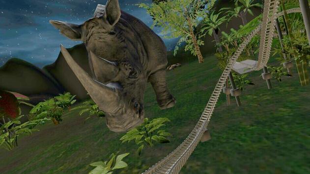 VR Roller Coaster (Jungle) screenshot 4