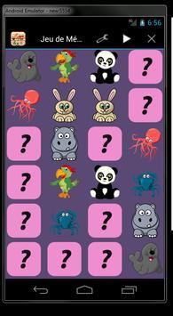 jeu de mémoire pour enfants screenshot 2