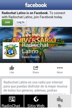 RadioChat Latino Movil apk screenshot