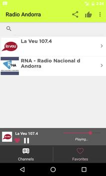 Radios Andorra on Internet apk screenshot