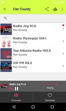 Radios Albania on Internet apk screenshot