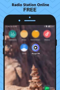 Rouge FM Radio CH App Station Free Online screenshot 2
