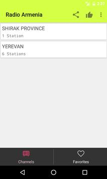 Radios Armenia on Internet apk screenshot