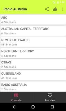 Radios Australia on Internet poster