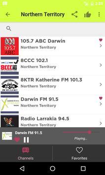 Radios Australia on Internet apk screenshot