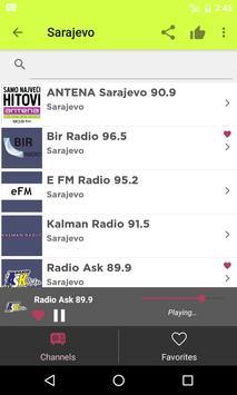 Radios Bosnia Herzegovina apk screenshot