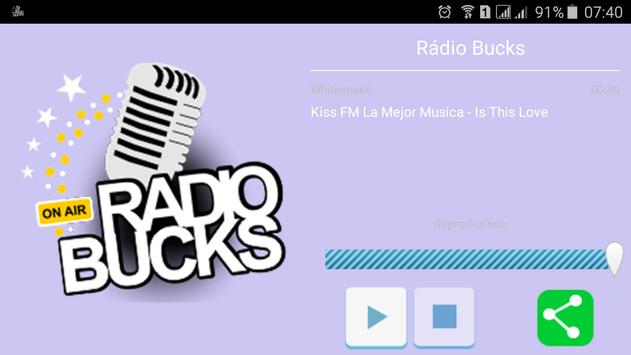 Rádio Bucks screenshot 2
