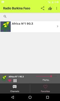 Radios Burkina Faso - Internet apk screenshot