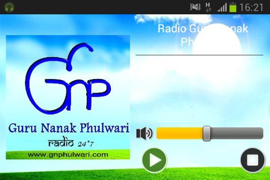 Radio Guru Nanak Phulwari screenshot 1