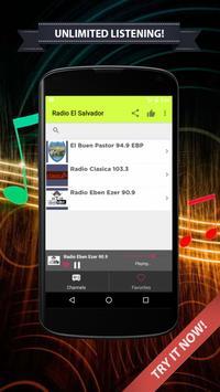 Radios El Salvador on Internet apk screenshot