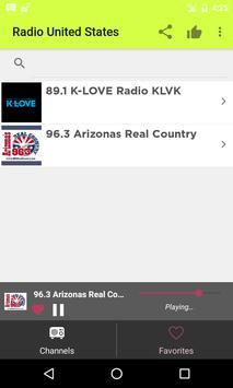 Radios Estados Unidos Internet apk screenshot