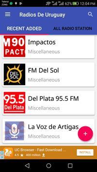 Radios De Uruguay apk screenshot