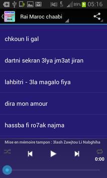Rai Maroc chaabi 2016 apk screenshot