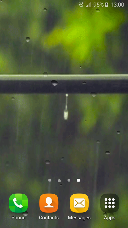Rain Gif Wallpaper with Sound poster Rain Gif Wallpaper with Sound screenshot 1 ...