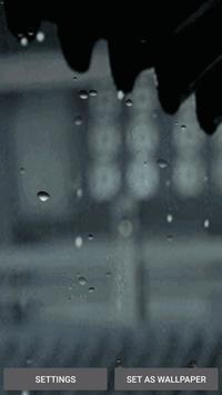 Rain Gif Wallpaper with Sound apk screenshot