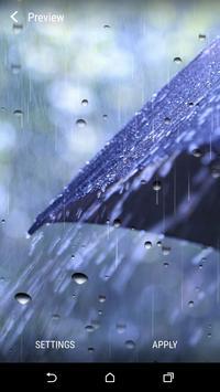Rainy Day Live Wallpaper apk screenshot