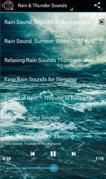 Rain & Thunder Sounds apk screenshot