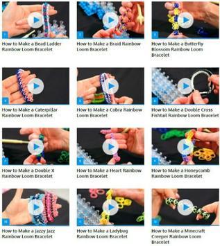 Rainbow Loom Bracelets poster