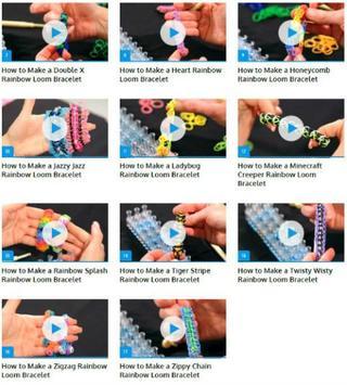 Rainbow Loom Bracelets apk screenshot
